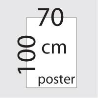 لیست قیمت های پوستر ۱۰۰ در۷۰ افست