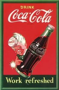 پوستر تبلیغاتی کوکاکولا