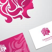 وکتور کارت ویزیت – سالن زیبایی و آرایشگاه – رایگان