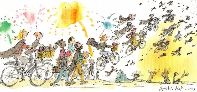 کوانتین بلیک –  آدمهای کج وکوله و ماشینهای قراضه