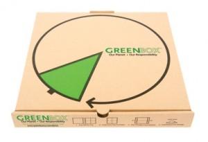 جعبه پیتزا بازیافتی