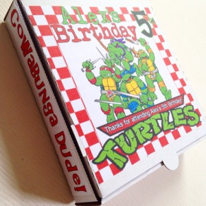 جعبه پیتزا کودکانه