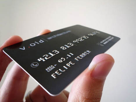 Black-Pvc-Business-Card