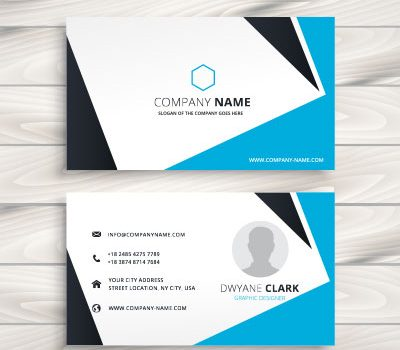 کارت ویزیت شخصی وکتور لایه باز