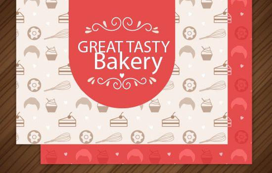 طرح لایه باز کارت ویزیت شیرینی فروشی و نانوایی