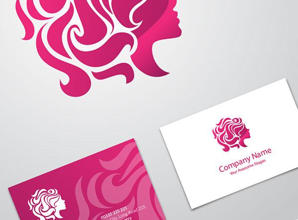 نمونه کارت ویزیت وکتور آرایشگاه و سالن زیباییکارت-ویزیت-سالن-زیبایی-و-آرایشگاه