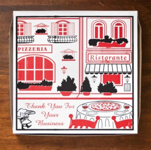 جعبه پیتزا خلاقانه