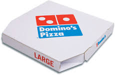 نمونه جعبه پیتزا دومینو
